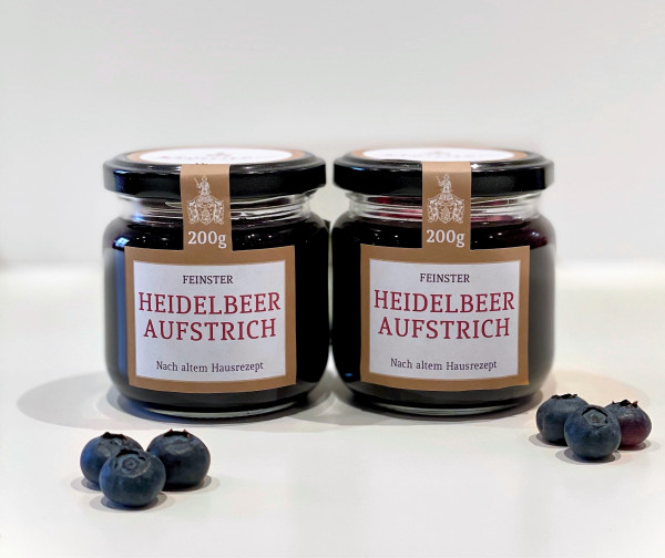 Heidelbeer-Aufstrich 2er-Pack